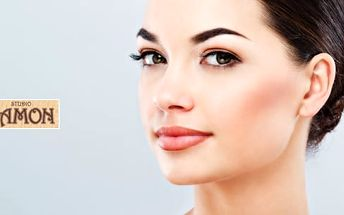 Permanentní make-up na obočí ruční pérovou metodou 3D vláskování za 90 minut