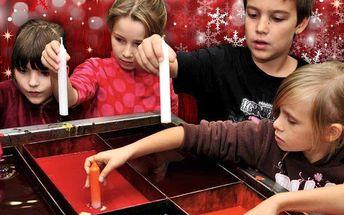 Vánoční tvoření: Výroba svícnu a adventní svíčky