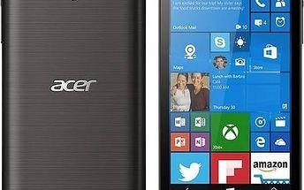 Mobilní telefon Acer Liquid M330 LTE (HM.HTGEU.001) černý + Voucher na skin Skinzone pro Mobil CZ v hodnotě 399 Kč+ Software F-Secure SAFE 6 měsíců pro 3 zařízení v hodnotě 999 Kč