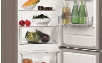 Kombinace chladničky s mrazničkou Indesit LI6 S1 X nerez