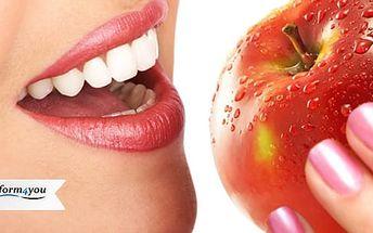 Neperoxidové bělení zubů lampou vč. remineralizace zubní skloviny: 45min. procedura