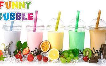 56% sleva až na tři oblíbené nápoje Bubble Tea 500/750 ml