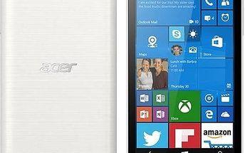 Mobilní telefon Acer Liquid M330 LTE (HM.HTHEU.001) bílý