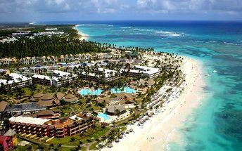 Dominikánská republika - Punta Cana na 9 až 12 dní, all inclusive s dopravou letecky z Prahy