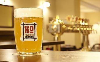 Pivovar Kolčavka Praha až na 6 dní pro dva: snídaně, 1x večeře i polopenze + ochutnávka piva