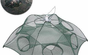 Rybářská síť se šesti otvory - skládací