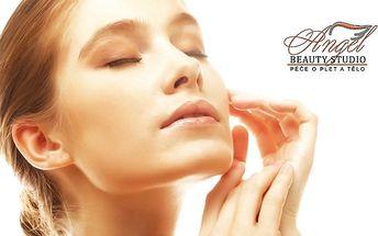 Čištění pleti ultrazvukovou špachtlí v Beauty Studiu Angel v Praze