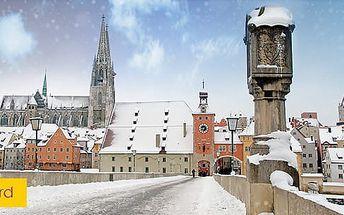 Adventní Regensburg, 1denní zájezd pro 1 osobu s průvodcem do města na Dunaji z Prahy