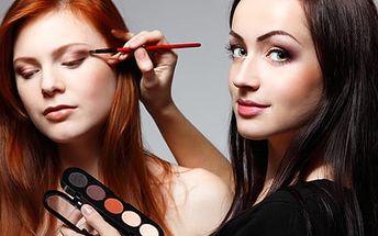 Profesionální kurz líčení: 1-2hod. kurz ve skupince nebo individuálně či 4denní kurz