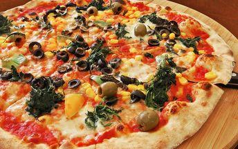 Dvě pizzy na posilnění před návštěvou zoo