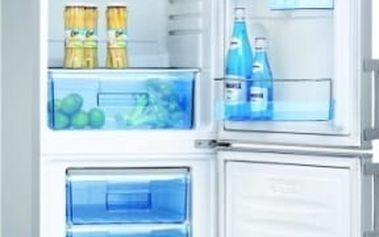 Kombinace chladničky s mrazničkou Amica FK265.3 SAA stříbrná
