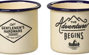 Sada dvou hrnků na espresso Gentlemen's Hardware