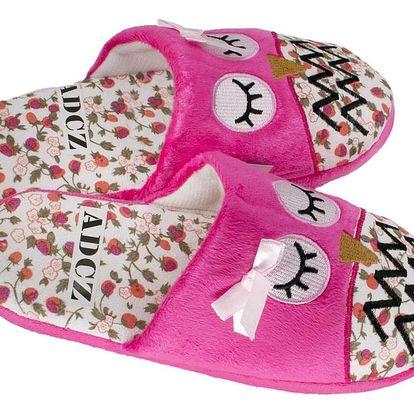 Modern World Dámské papuče sovíčky