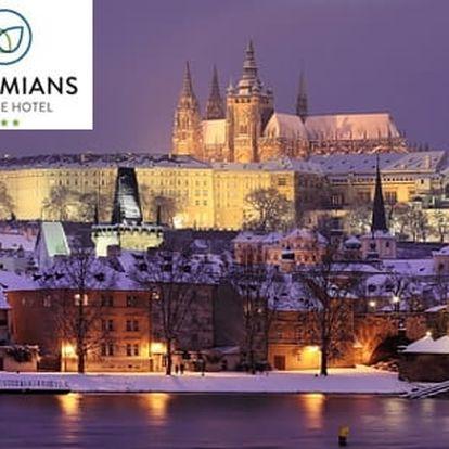 Hotel Bohemians*** - Praha, Podolí na 2-4 dny pro dva se snídaněmi a výhledem na Vltavu