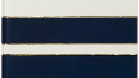 Zápisník Tri-Coastal Design Navy Blush, modrý