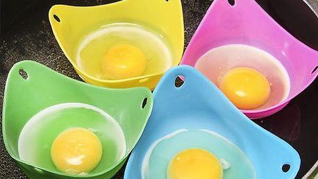 Silikonové pohárky na vaření vajec