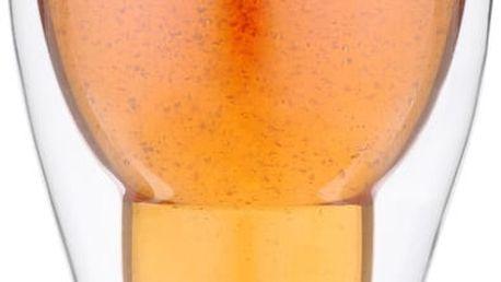 Dvojitá pivní sklenice Vially Design, 350 ml