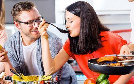 120 minut vaření a konverzace v angličtině