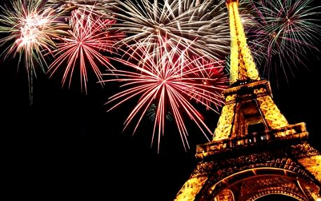 Zájezd do Paříže na Silvestr 29.12 - 1.1.2017, 4-denní poznávací zájezd do Paříže za 2190 Kč za osobu