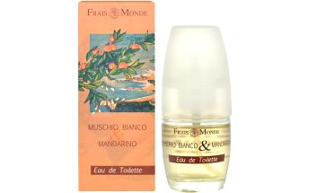Frais Monde Toaletní voda Bílý mošus a mandarinka (White Musk And Mandarin Orange) 30 ml