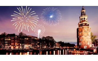 Silvestr v Amsterdamu: ubytování a sektu do páru