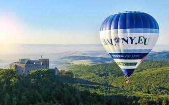 Let horkovzdušným balónem se stevardkou na palubě pro 1 osobu