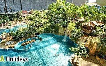 Aquapark Tropical Islands: Zájezd pro 1 osobu na 1 den + 3 termíny a doprava z Prahy a Ústí