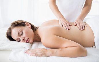 60–120minutová masáž zad dle výběru v pražském masérském salonu Masáže Praha 1