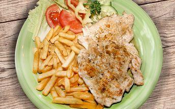 Bude vám chutnat: Kuřecí steak s hranolky pro 2