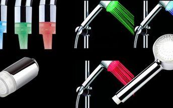 Barevná svítící LED sada pro Vaší koupelnu