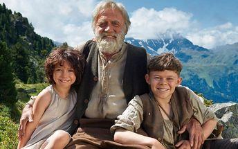 2 vstupenky na film Heidi, děvčátko z hor