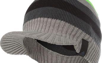 Zimní čepice s kšiltem Adidas vel. obvod 56 cm