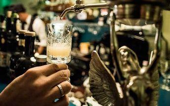 Degustace značkových absintů s louche efektem