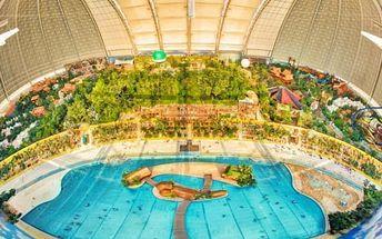 Aquapark Tropical Islands: Zájezd pro 1 osobu na 1 den + 2 termíny a doprava z Prahy a Ústí