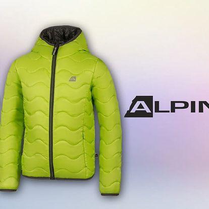 Dětské zateplené bundy a vesty Alpine Pro