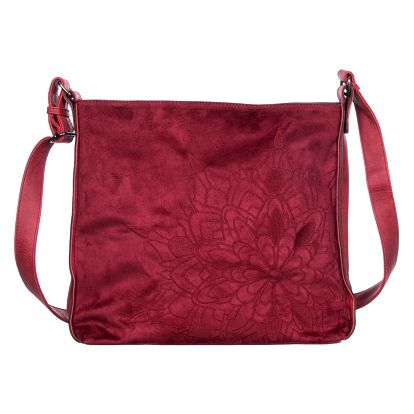 Fashion Icon Dámská kabelka velká s ornamenty umělá kůže crossbody přes rameno velká Business Casual velká VK0064-03