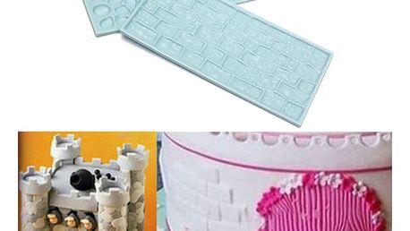 Formička na dorty - stavební kameny