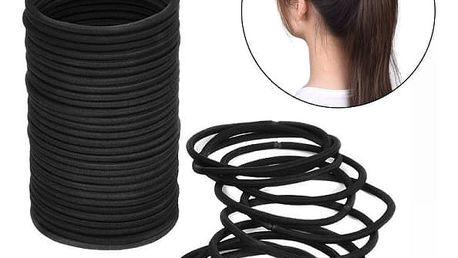 Balení gumiček do vlasů - 40 kusů