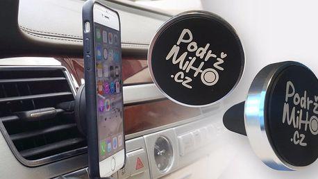 Magnetický držák na telefon - praktická pomůcka do auta