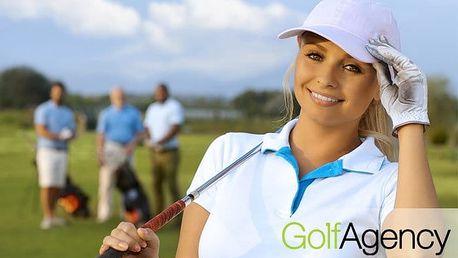 Golfový kurz pro začátečníky od Golf Agency v areálu Albatros Golf v Poděbradech pro 1
