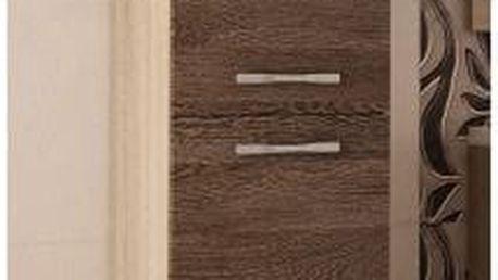 Vysoká skříňka do koupelny Valencia ssc 1