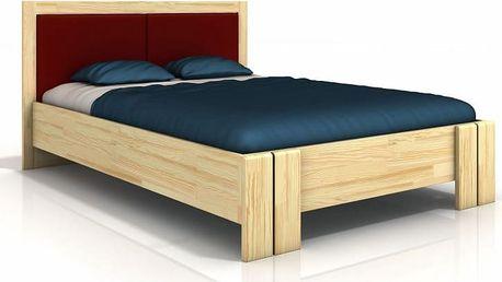 Dřevěná postel Toril 4 ve skandinávském stylu - DOPRAVA ZDARMA!