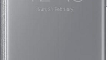 Samsung EF-ZG930CS Flip ClearView Galaxy S7,Silver - EF-ZG930CSEGWW