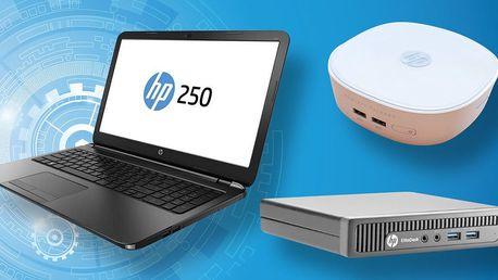 Našlapané značkové počítače HP