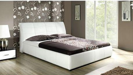 Manželská postel s úložným prostorem Dorothy A - DOPRAVA ZDARMA!
