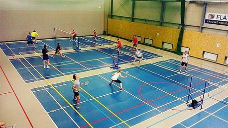 Pronájem badmintonového hřiště v Praze