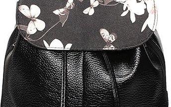 Dámský elegantní batoh se stahovacími šňůrkami