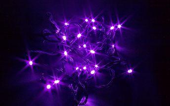 Vánoční LED osvětlení - 200 LED řetěz zelený
