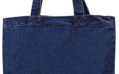 Dámská ležérní taška v retro denim designu