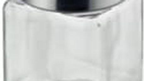 Dóza SIRO sklo/nerez šedá 1L KELA KL-11853